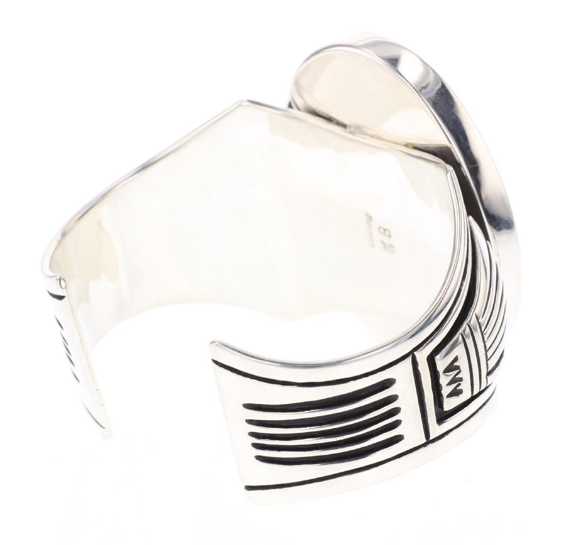 KB Contemporary Box Overlay Cuff Bracelet - 2