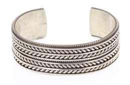 Vintage Chain Link  Design Row Bracelet
