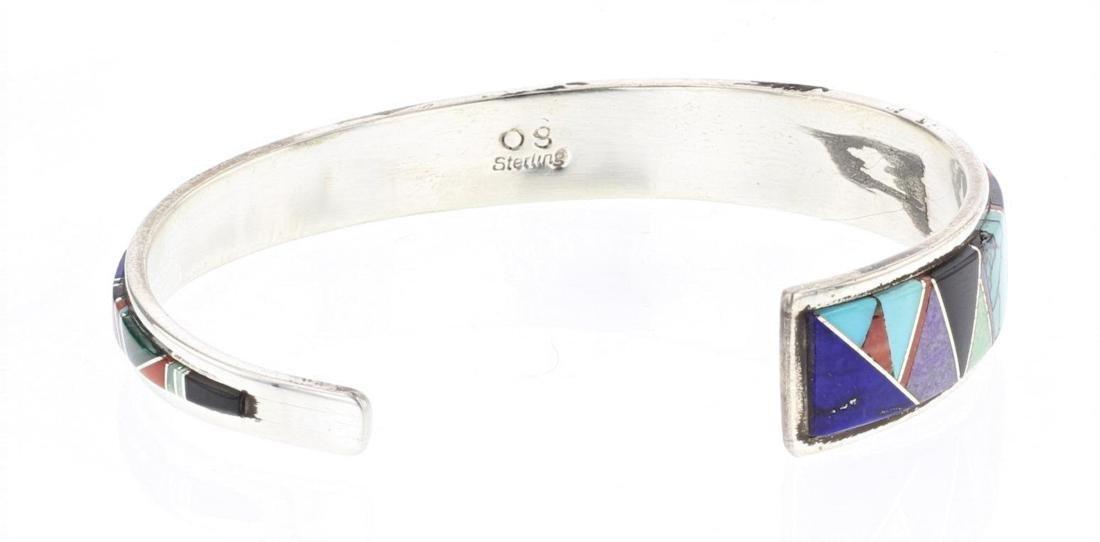 OS vintage Inlay Multi Stone Bracelet - 2
