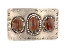 Old Pawn Agate Belt Buckle