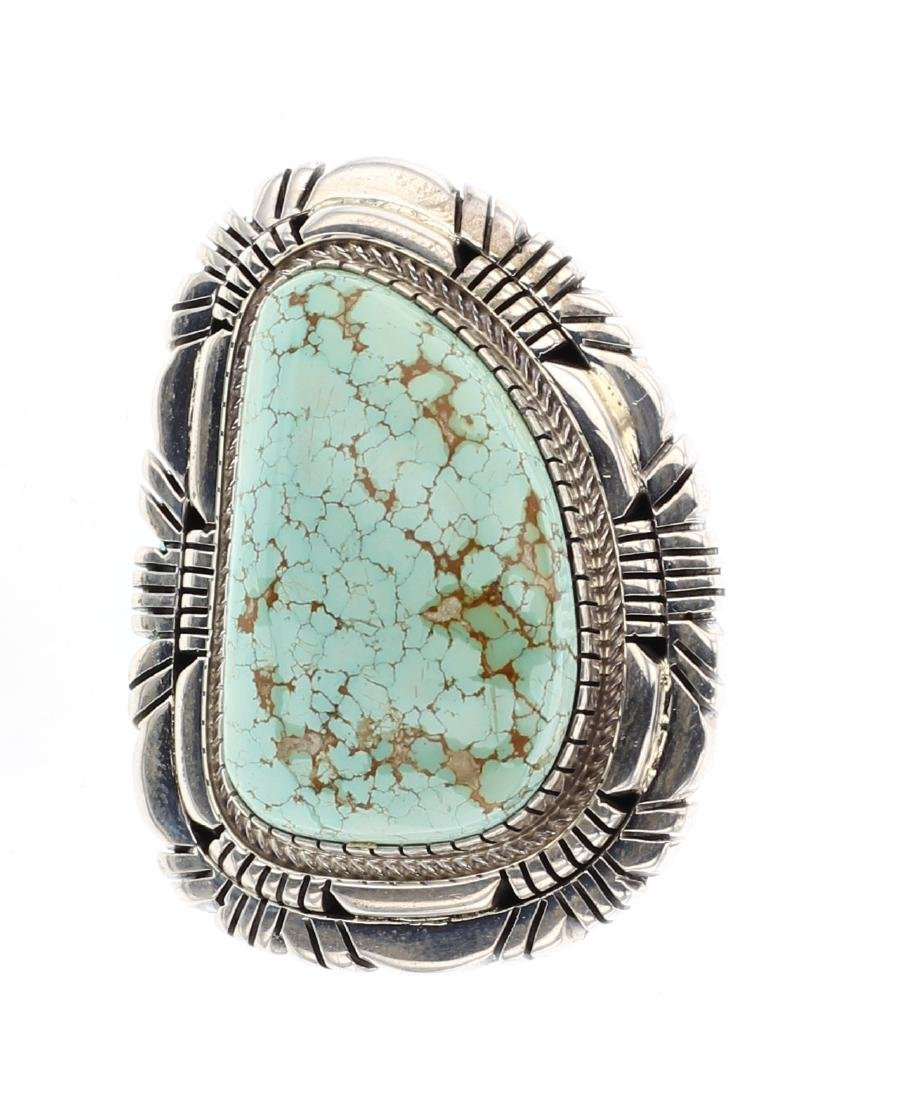 Esther Spencer Kingman Turquoise Ring