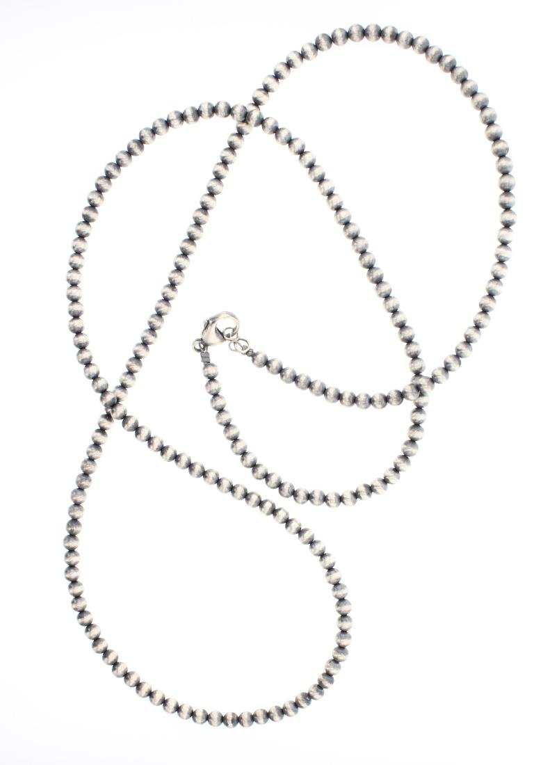 Navajo Pearls Beads Necklace