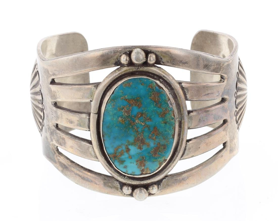 Old Pawn Turquoise Cuff Bracelet