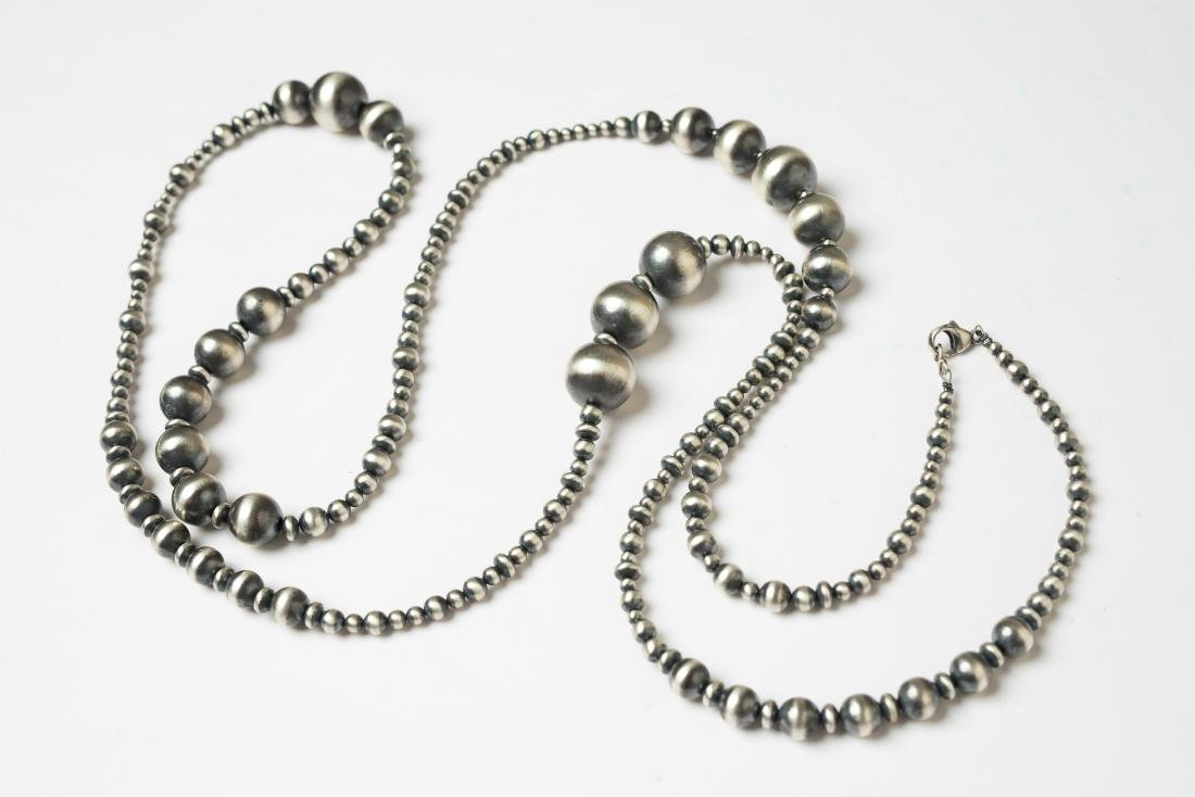Navajo Pearls Beads Necklace - 3
