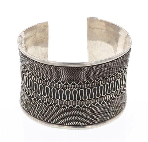 050f3fb80 Vintage Wide Silver Cuff Bracelet - Jan 05, 2019 | Billy The Kid ...