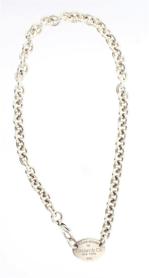 9de2b4ccd Vintage Tiffany & Co Chain Link Necklace - Jan 05, 2019 | Billy The ...