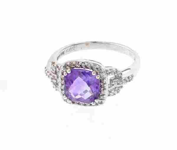 Vintage 14K Gold & Diamonds Ring