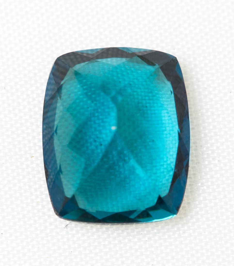 Natural 4.37 CT Indicolite Blue Tourmaline Loose Gem