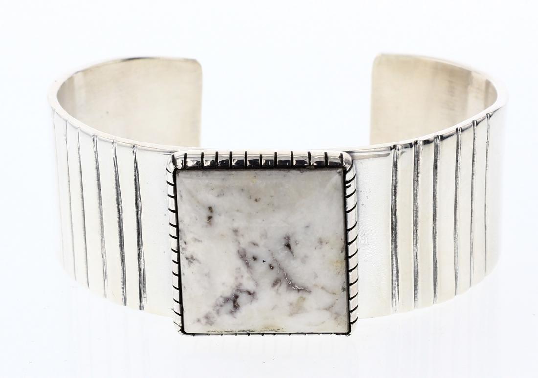 Delvin John White Buffalo Contemporary Bracelet