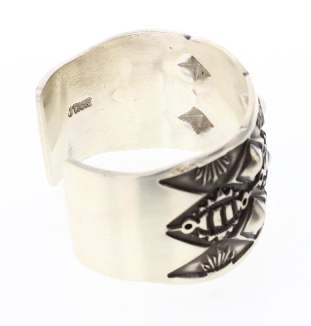 Tahe Heavy Stamp Thick Gauge Bracelet - 2