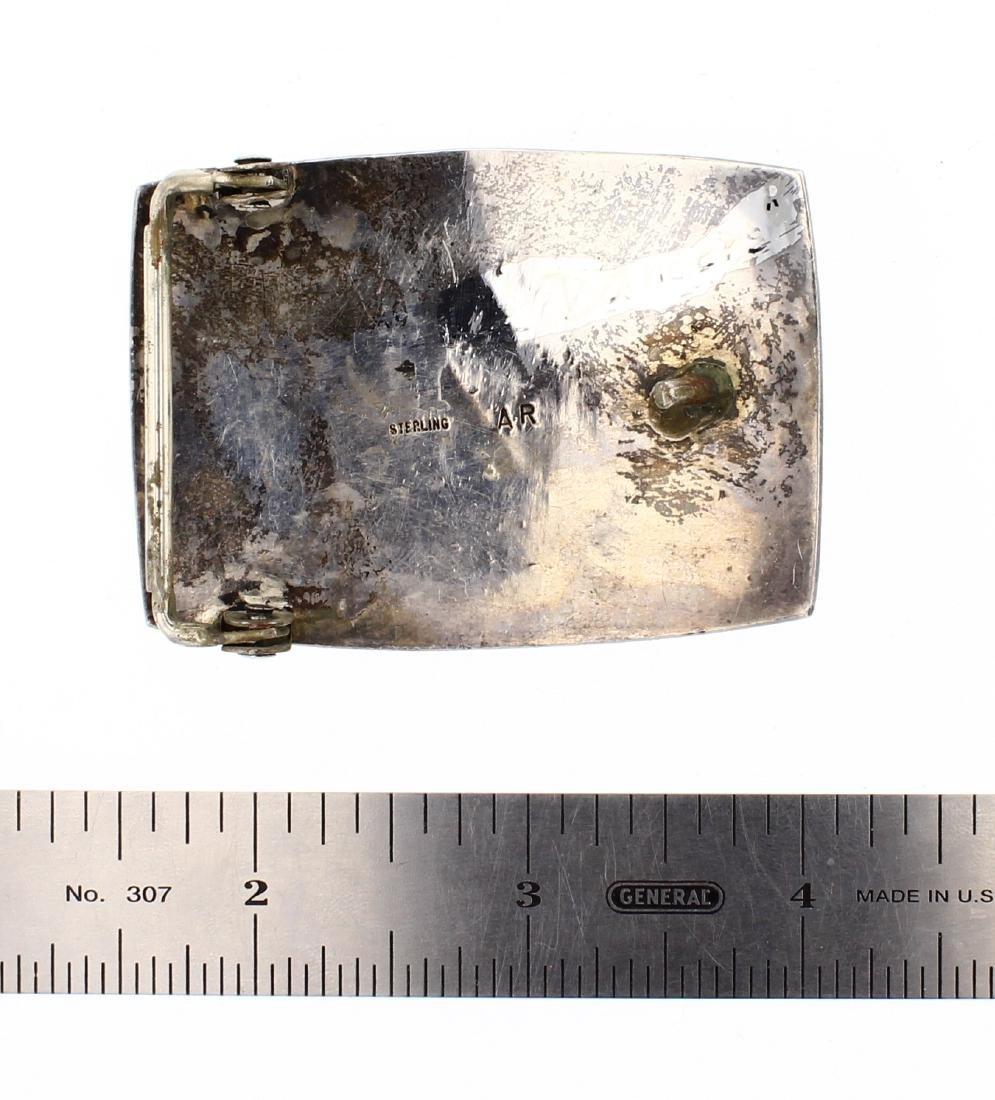 AR Old Pawn Antique Hopi Belt Buckle - 2