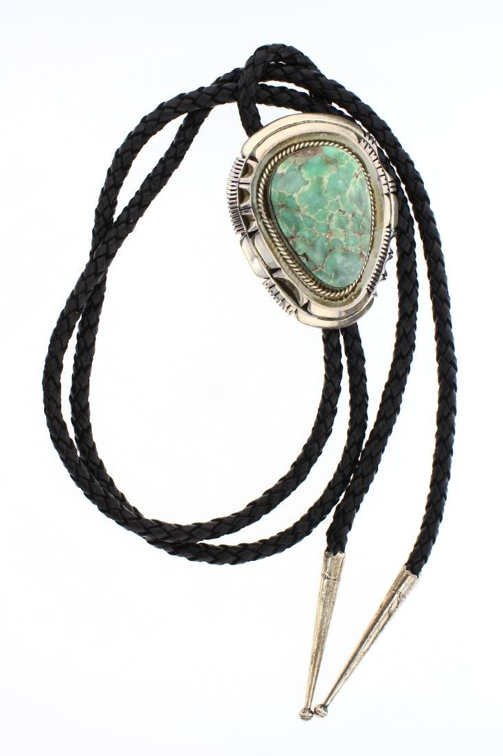 JN Vintage Turquoise Bolo Tie