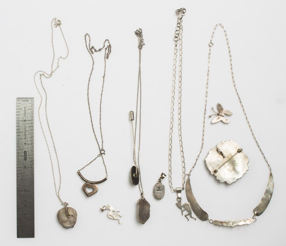 Vintage & Old Pawn Necklace & Pendant Lot of 10  Navajo - 3