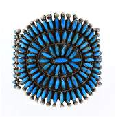 Old Pawn Sleeping Beauty Turquoise Petite Point Cluster