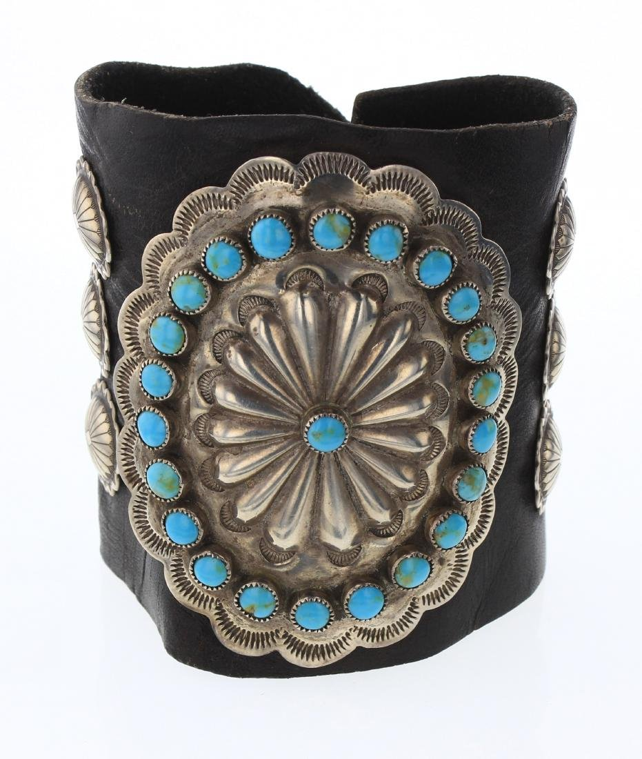 Old Pawn Turquoise Arm Guard