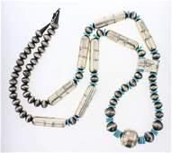 SB Navajo Pearls Bench Beads Mix Styles Jacla Necklace