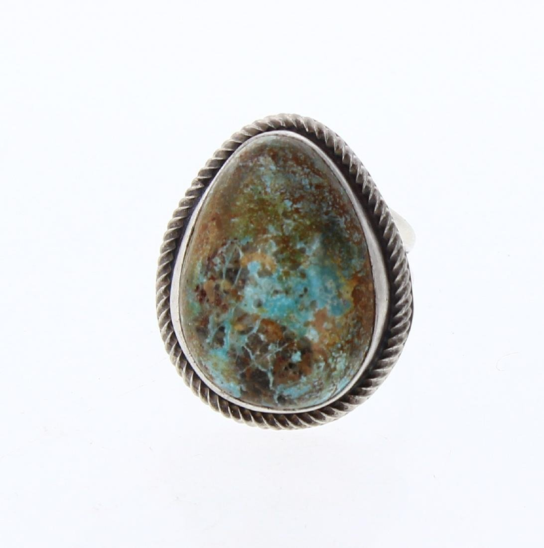 Benny Ramone Vintage Turquoise Ring