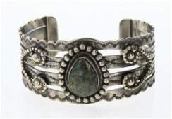 Lorenzo Juan Turquoise Cuff Bracelet