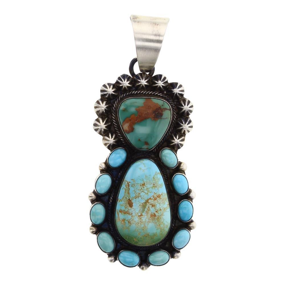 Kathleen Chavez Royston Turquoise Pendant