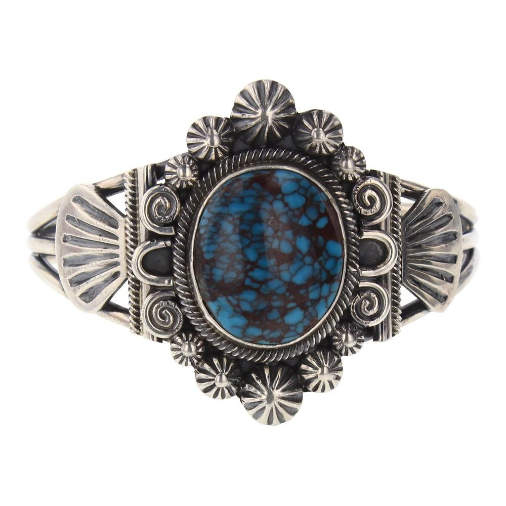 Leon Martinez High Grade Egyptian Turquoise Bracelet