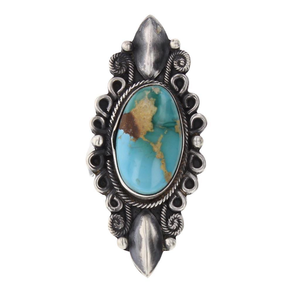 Delvin John Royston Turquoise Ring