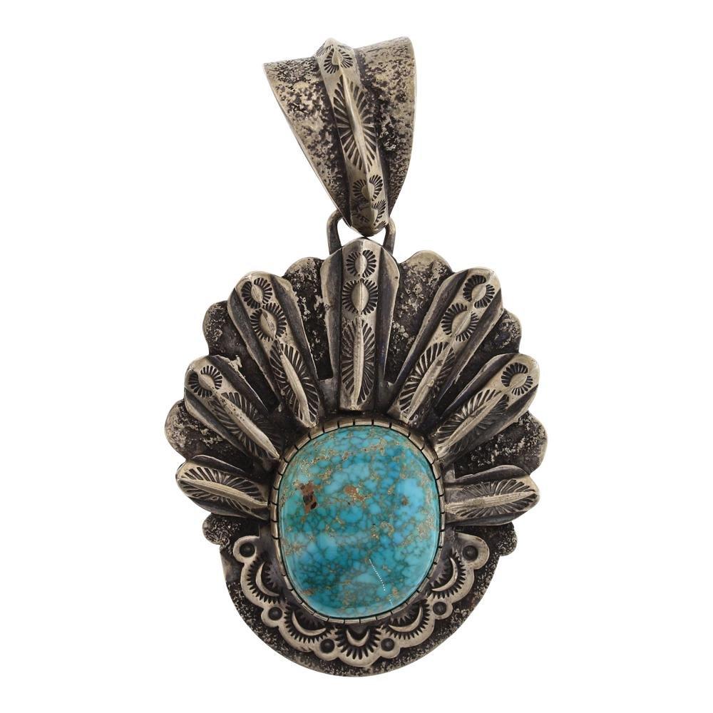 Benny Ramone Vintage Godber's Turquoise Pendant