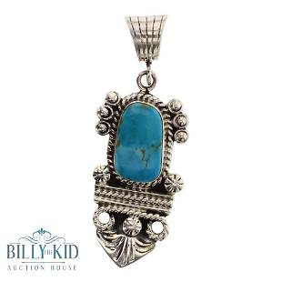 Gilbert Tom Turquoise Pendant