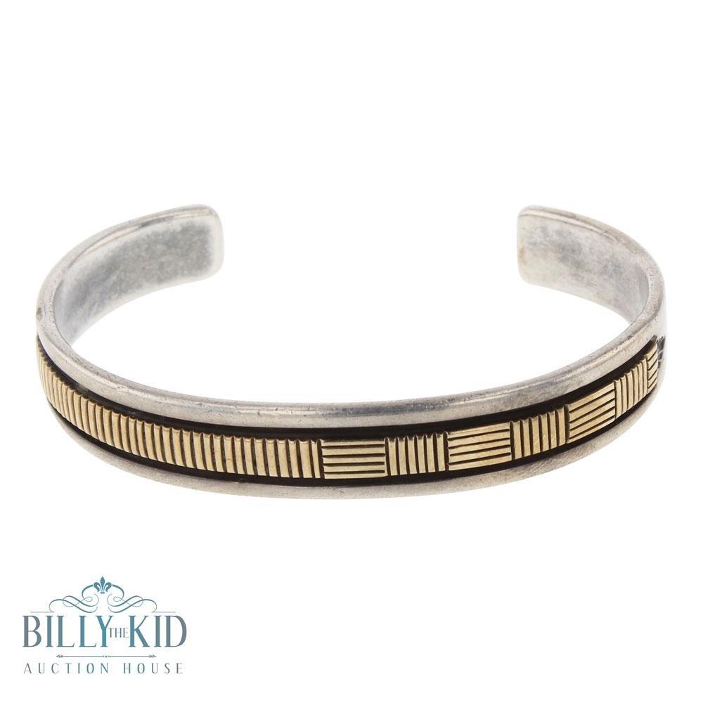 Bruce Morgan 14K Gold Over Silver Bracelet