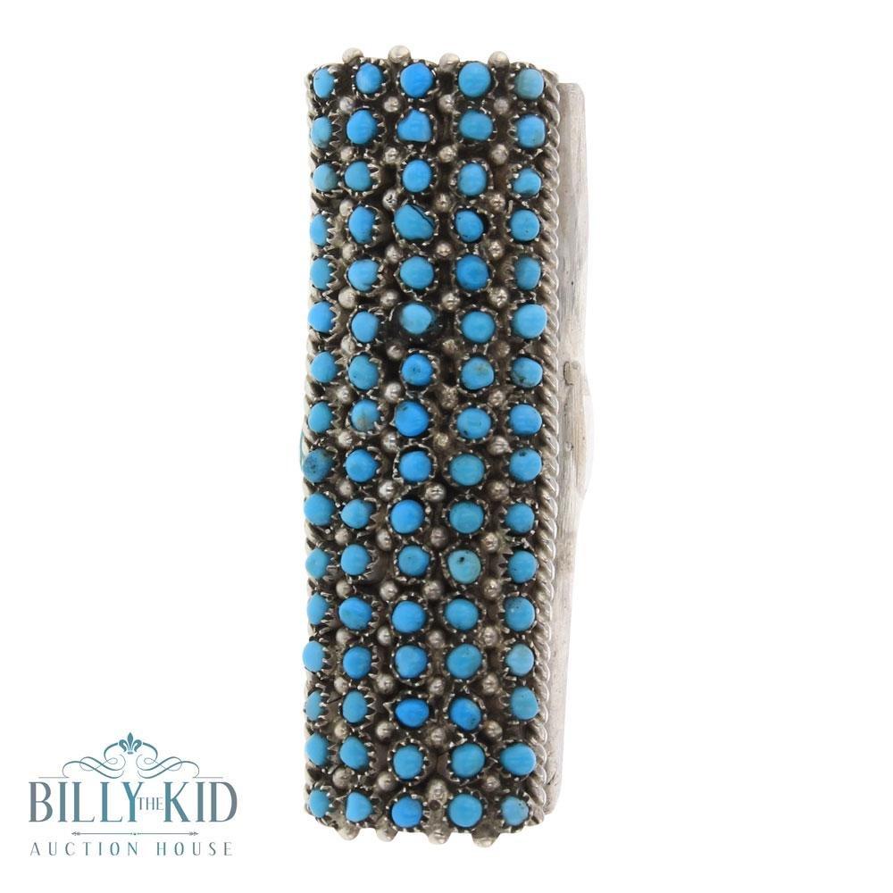 Peter Haloo Sleeping Beauty Turquoise Zuni Five Row