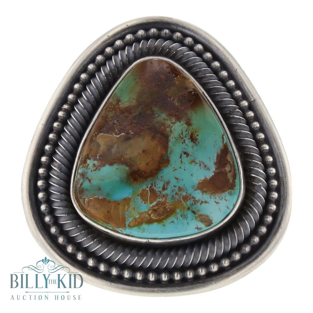 Ernest Roy Begay Royston Turquoise Ring