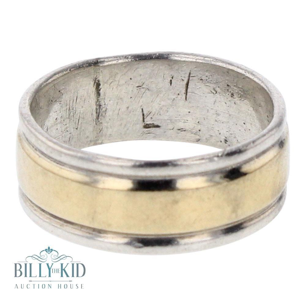Vintage 14K Gold over Silver Ring