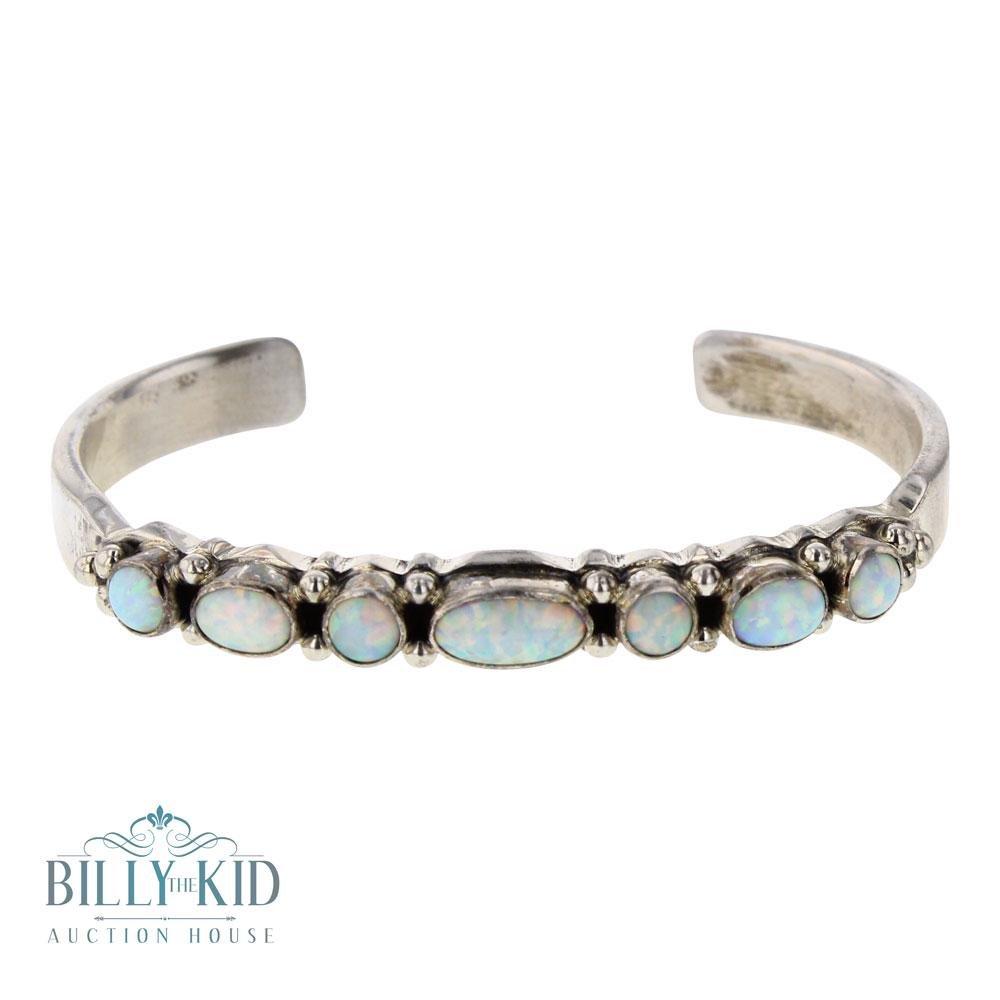 Vintage Synthetic Opal Bracelet