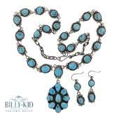Kathleen Chavez Candelaria Turquoise Necklace