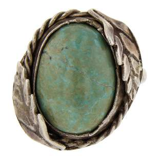 Nevada Turquoise Vintage Ring