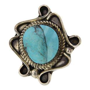 DN Navajo Turquoise Ring