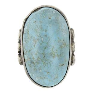 Victor Hicks Dry Creek Turquoise Ring