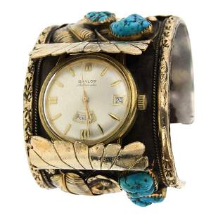 J. Haley Vintage Pawn Sleeping Beauty Nugget Turquoise