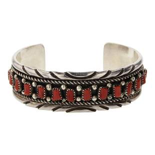Irvin Chee Freeform Coral Cuff Bracelet