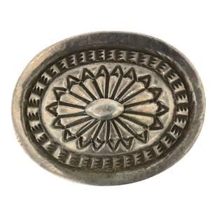 Navajo Plain Silver Pin
