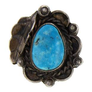 Old Pawn Vintage Turquoise Ring