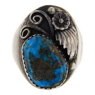Blue Ridge Turquoise Men's Ring