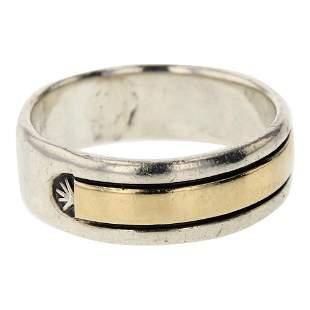 Chimney Butte 14K Gold over Sterling Silver Ring