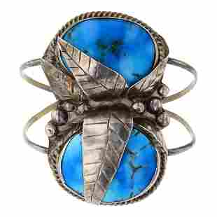 Vintage Pawn Turquoise Bracelet