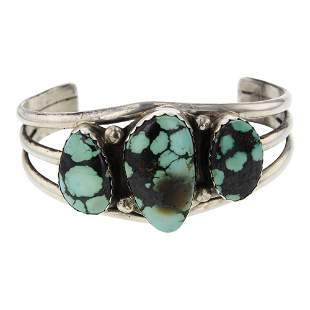 Fred Peters Vintage Turquoise Bracelet