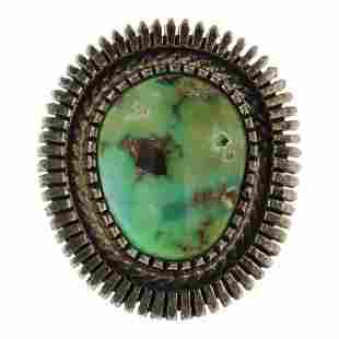 Raymond Bennett Carrico Lake Turquoise Ring
