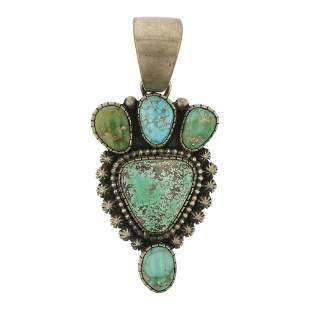 Darrin Livingston Carrico Lake Turquoise Pendant
