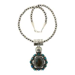 Tom Lewis Nevada Turquoise Necklace