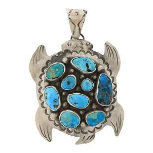 Leigha Cleveland Blue Ridge Turquoise Sea Turtle