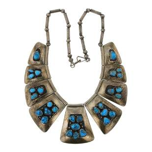 Vintage Pawn Morenci Turquoise Necklace