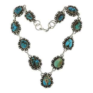 Bob Becenti Nevada Turquoise Necklace